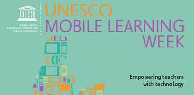 Programa de la UNESCO para el aprendizaje móvil.